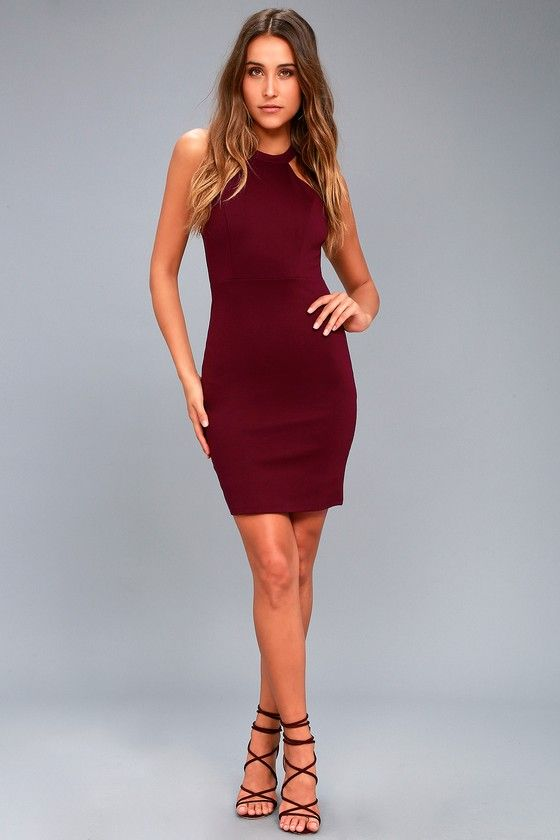 738b3d82af0c Endlessly Alluring Plum Purple Lace Bodycon Dress in 2019
