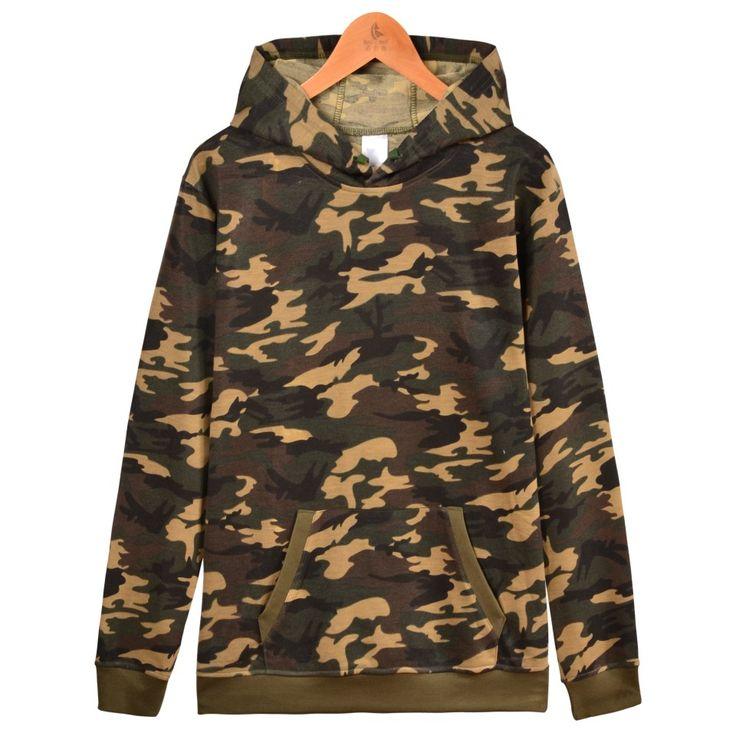Твердая пуловер Hoodie зимы Теплый Хлопок Черный Белый Серый Темно-синий камуфляж 6 цветов Толстовка Мужчины Толстовки Plus 4XL Street