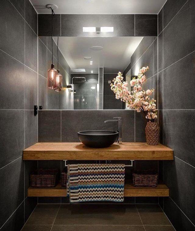 Modernes Badezimmer Großflächiger Trend Fugenlose Bäder 2018: 14 Besten Туалеты Bilder Auf Pinterest