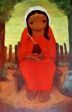 arte argentino : schurjin, raúl - figura humana -
