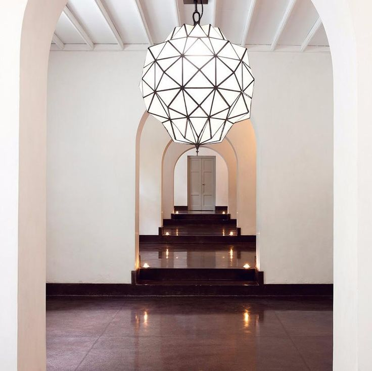 Large Glass & Brass Moroccan Pendant Light – Lighting Collective