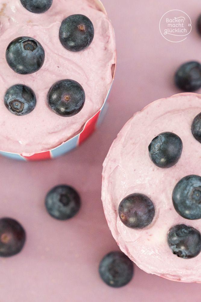 Einfache gesunde Cupcakes ohne Zucker, Eier und Butter: Wie es geht, zeigt dieses zuckerfreie Cupcakes-Rezept für Babys und Kleinkinder - schmecken auch Erwachsenen, die auf der Suche nach vergleichsweise fettarmen und kalorienarmen Cupcakes sind.