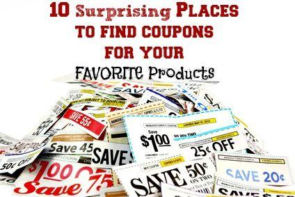 Strategic Shopping: Where Do I Find Coupons?--> http://www.familyfriendlyfrugality.com/strategic-shopping-where-do-i-find-coupons/