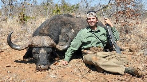 "Donald Trump's sons are under investigation for poaching & killing animals. In 2011, the Trump brothers went hunting with an illegal, unlicensed hunting company. The Trump brothers killed an elephant, buffalo & crocodile. When this picture surfaced, Donald Trump, Jr defended their actions in part by tweeting, ""I'm a hunter, for that I make no apologies."""