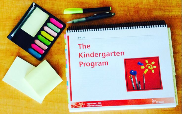 Full day kindergarten programs