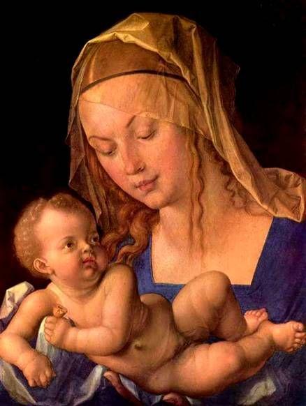 Альбрехт Дюрер. Мадонна с грушей 1513