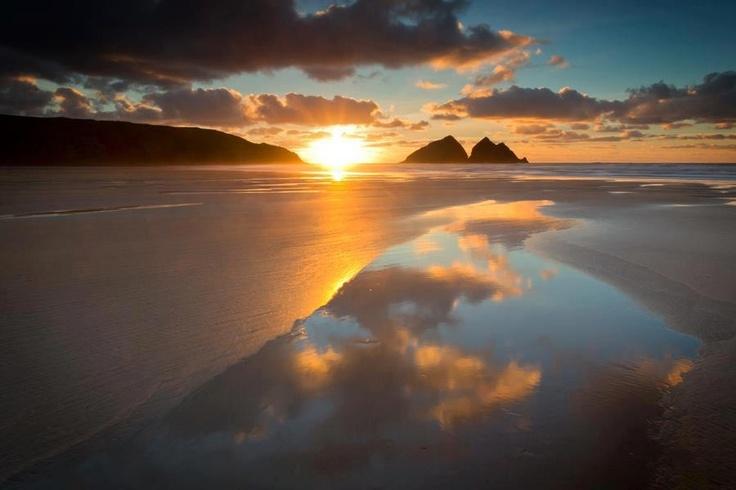 Holywell Bay Love Cornwall