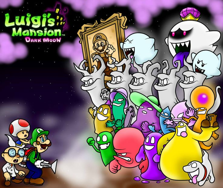 Luigis Mansion Dark Moon Wallpaper By SuperLakitu On DeviantART