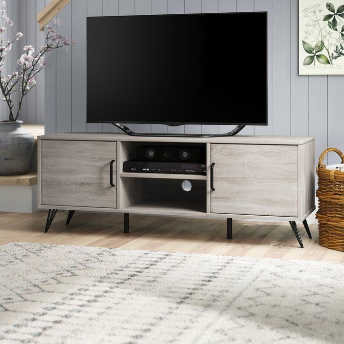 Chippewa Tv Stand For Tvs Up To 43 With Images Vintage Tv