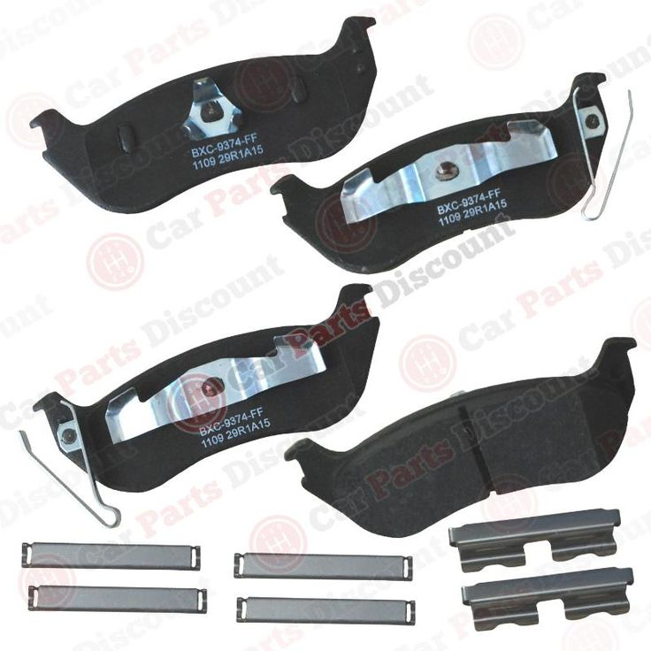 Bendix Disc Brake Pad, Sbc1109 #car #truck #parts #brakes #brake #pads #shoes #sbc1109