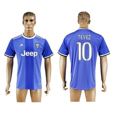 Juventuss 16-17 #Tevez 10 Bortatröja Kortärmad,259,28KR,shirtshopservice@gmail.com