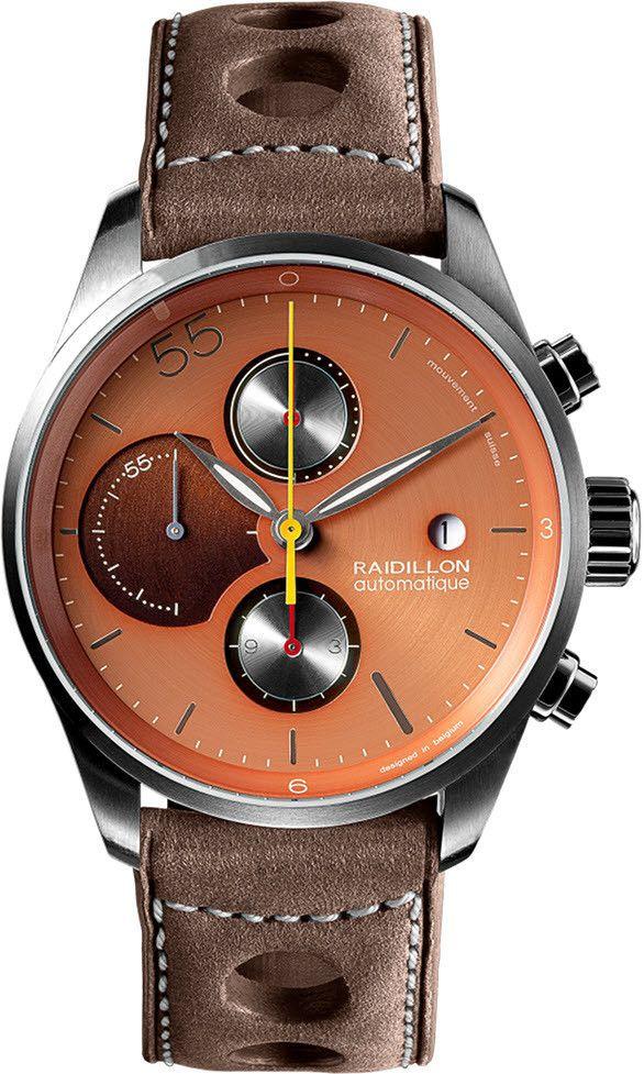 Raidillon Watch Design Chronograph Limited Edition #add-content #bezel-fixed…