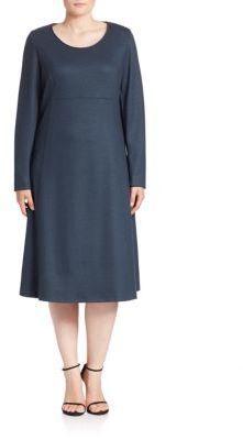Marina Rinaldi, Plus Size Doblone A-Line Dress