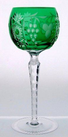 Water Goblet made of fine lead crystal. Excellent for serving mineral water as Borsec, Borjomi, Ludovicus, Spa Reine, Contrex, Gerolsteiner, Evian, Trinity Springs, Badoit, Voss Artesian, Adobe Springs and other quality brands. - Marsala Water Goblet Excelsior