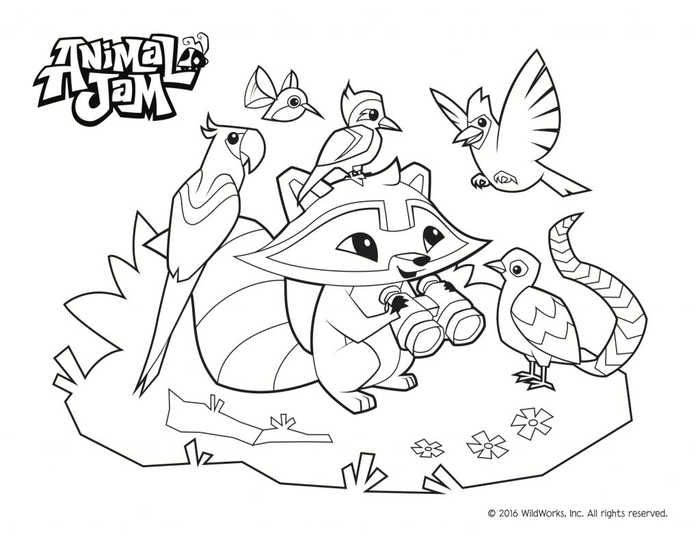 Printable Animal Jam Coloring Pages Animal Coloring Pages Animal Jam Animal Coloring Books