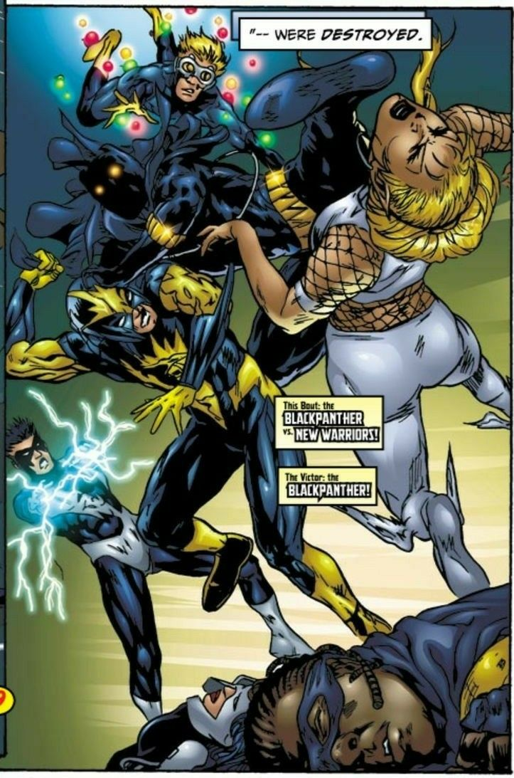 Black Panther Vs New Warriors Contest Of Champions V2 3 Black Panther Marvel Black Panther New Warriors