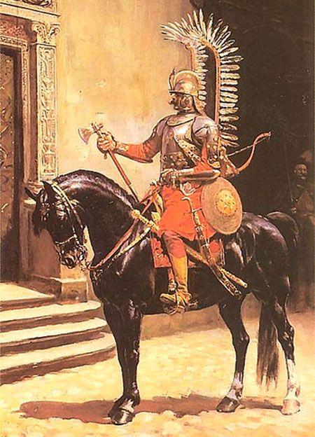 Znalezione obrazy dla zapytania husarz
