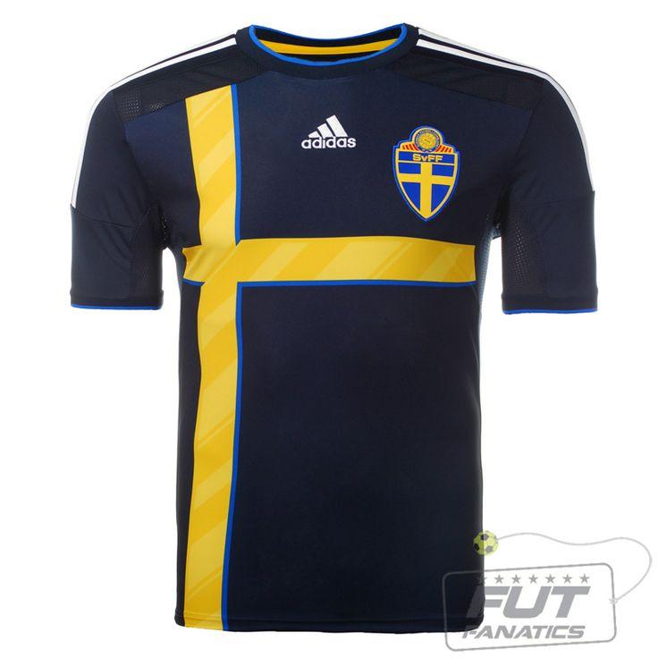 Camisa Adidas Suecia Away 2014 - Fut Fanatics - Compre Camisas de Futebol Originais Dos Melhores Times do Brasil e Europa - Futfanatics