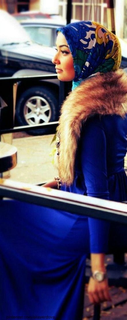 Hijab fashion.
