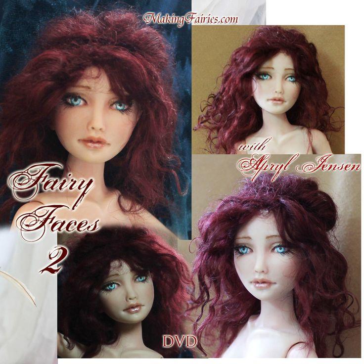 Learn to Sculpt Tasha's Beautiful Face! - MakingFairies.com