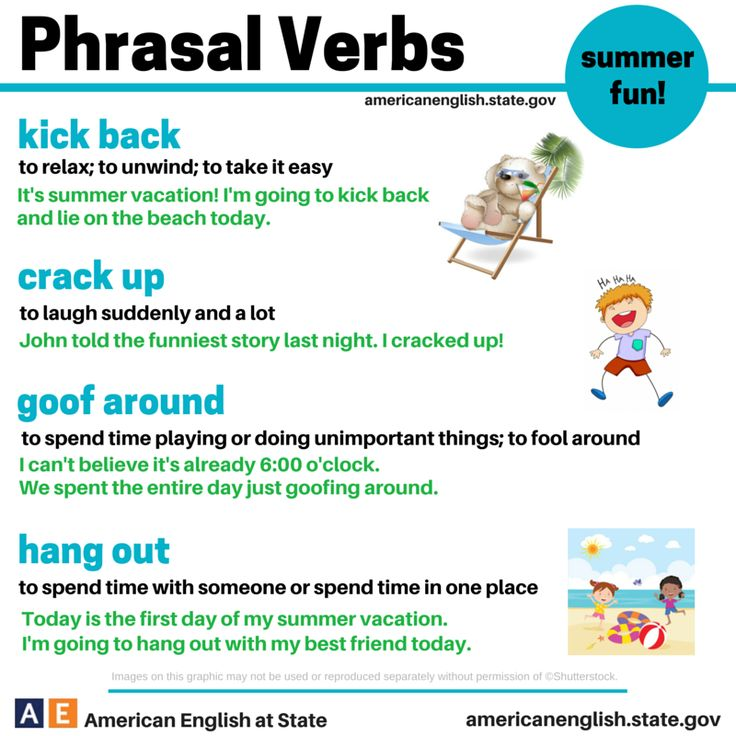 Phrasal Verbs Pictures 92