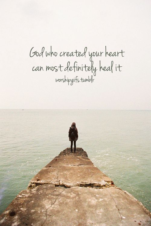 I have seen God heal the deep hurts in a woman's life, so I have great hope for you.