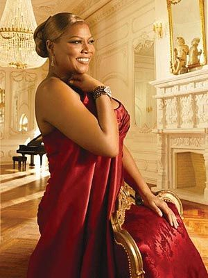 Queen Latifah - Dana Elaine Owens. Sexy, beautiful, and curvy! Step back stick girls!