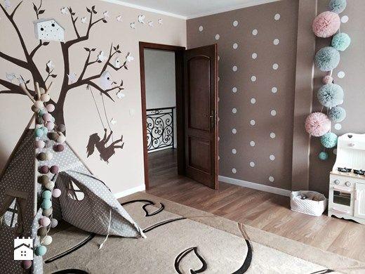 Teepee - magiczny namiot nie tylko dla dzieci - Średni pokój dziecka dla chłopca dla dziewczynki dla malucha, styl nowoczesny - zdjęcie od MartaWieclawDesign