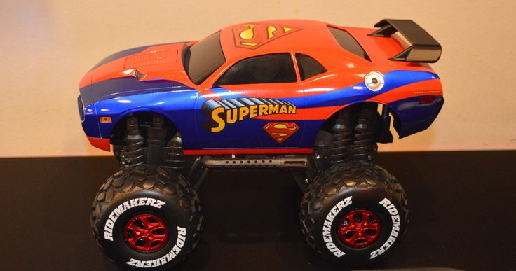 Max's New Superman Car... This Kid is Having Way too Much Fun!