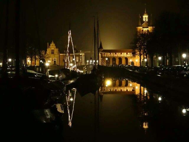 Zierikzee by night