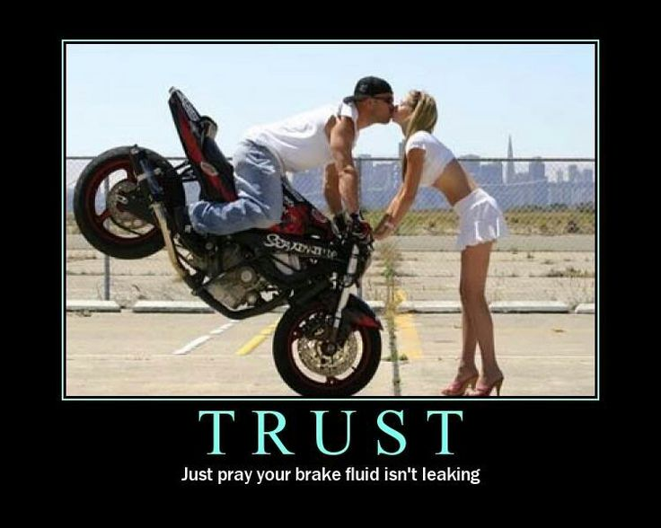 Ride together stay together - bout that life - biker kiss - stunter - Stoppie - Rolling Endo, motorcycle quote