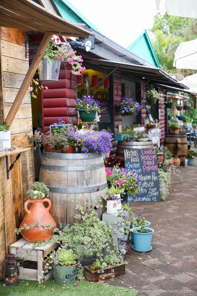 Maleny Village Artisan Food Market, Sunshine Coast hinterland, Queensland, Australia