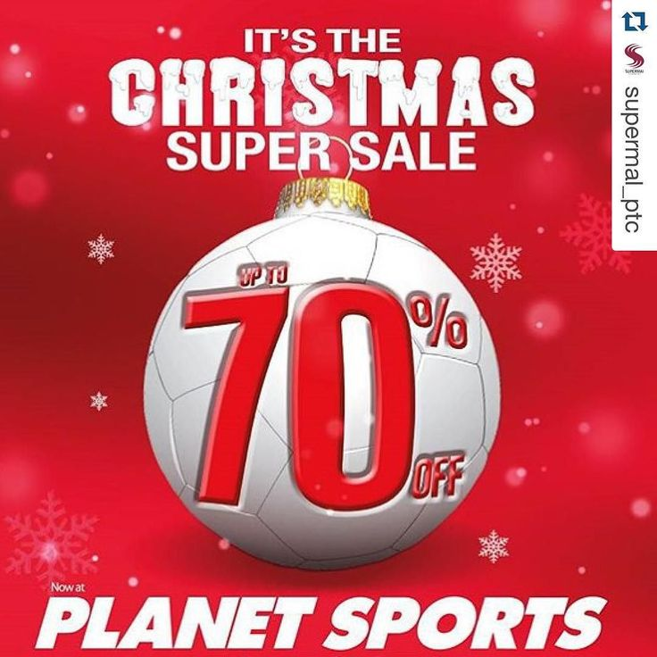 #Repost @supermal_ptc with @repostapp.  Christmas Super Sale Up to 70 % off at Planet Sports Supermal LG floor. ------ #amazing #amazingphil #picoftheday #instagood #instamood #olshop #internetmarketing #follow4follow #like #surabayapromo #promosurabaya #follow #followme #followmeplease #indonesia #jakarta #photooftheday #surabaya #webstagram #igers #instadaily #tagforlikes #love #blog #nofilter #friends