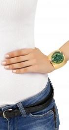 Green onyx cuff