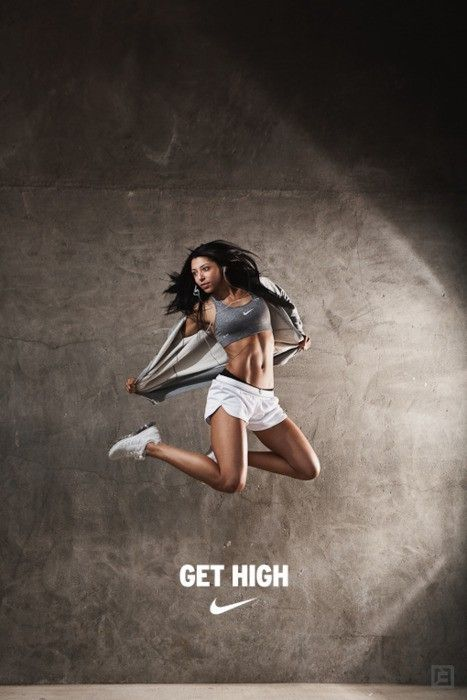 get high. Love this. Nike fitness