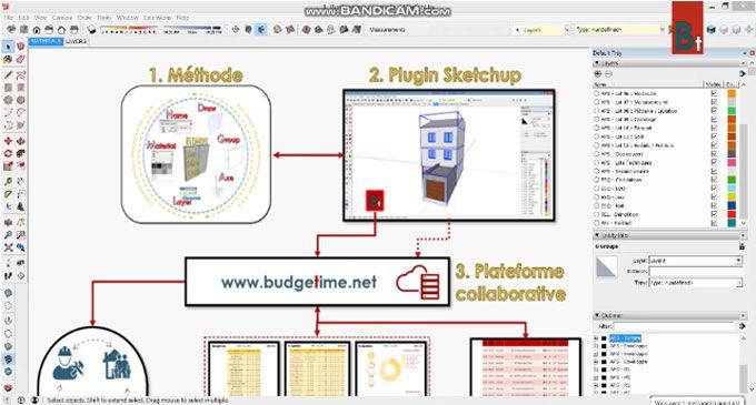 Budgetime Belongs To A Low Tech Bim Tool That Facilitates The