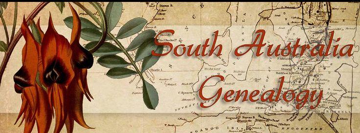 South Australia Genealogy Group on Facebook
