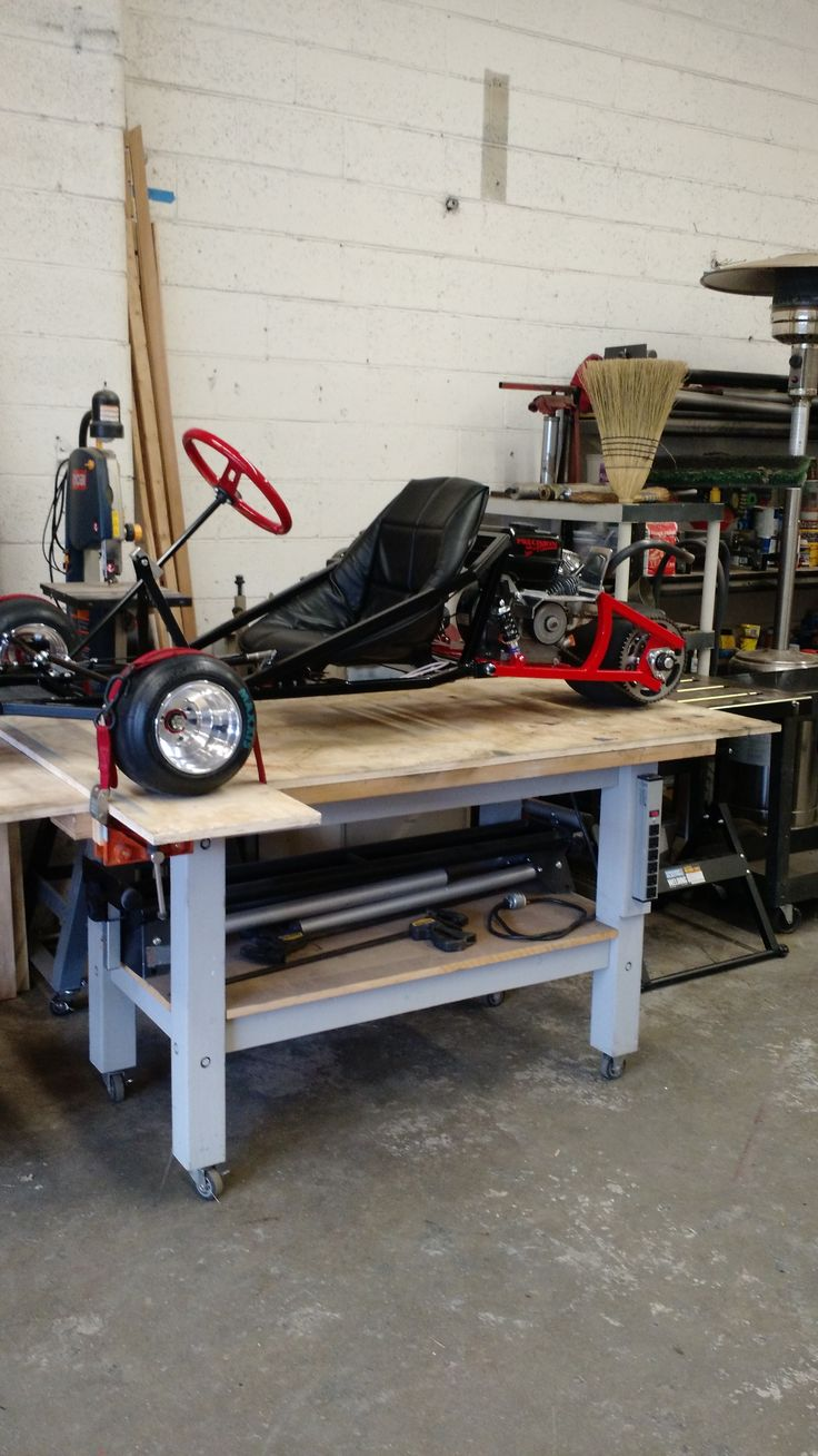 how to build a racing go kart