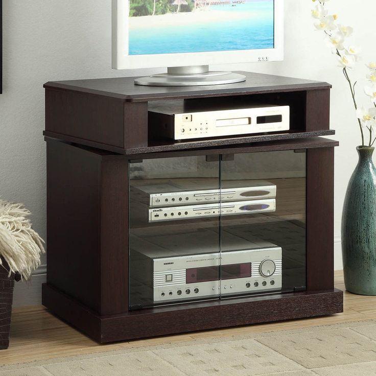 Swivel Top Cherry TV Stand - 08699
