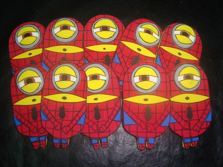 Minions hombre araña