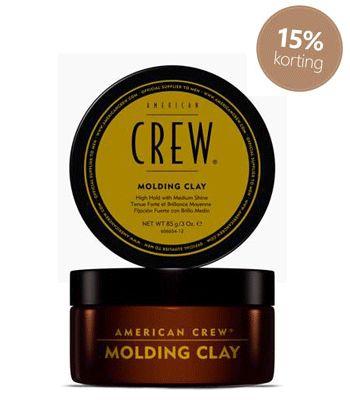 American Crew Molding #Clay #American #Crew #haarproducten #haarverzorging #kappersbenodigdheden #barbershop #heren #man