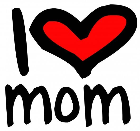 I Love Mom Simply Stated Mother S Day Inspiration