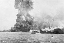 The bombing of Darwin on 19 February 1942 was both the first and the largest single attack mounted by a foreign power against Australia. On this day, 242 Japanese aircraft attacked ships in Darwin's harbour and the town's two airfields in an attempt to prevent the Allies from using them as bases to contest the invasions of Timor and Java. The town was only lightly defended, and the Japanese inflicted heavy losses upon the Allied forces at little cost to themselves. The urban areas of Darwin…