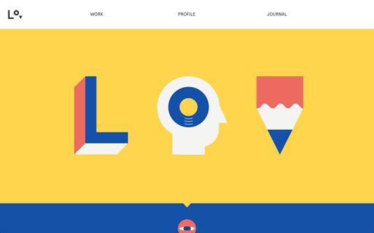Lorenzo Verzini / 10 examples of flat design
