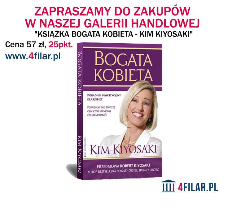Książka Bogata Kobieta - Kim Kiyosaki