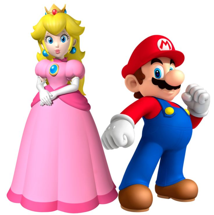 Mario and Peach by Legend-tony980 on deviantART
