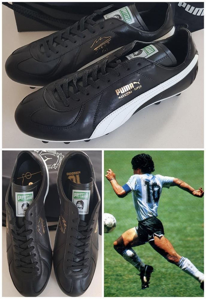 2e5a9bca89c3 PUMA MARADONA SUPER FG Football Boots Soccer Limited Edition NEW Men s UK  10 NEW  PUMA