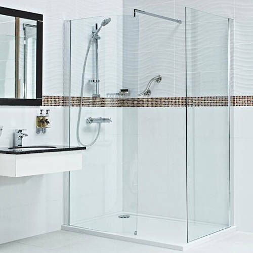 embrace walk in shower enclosures with 8mm thick glass at taps4less free delivery on everything