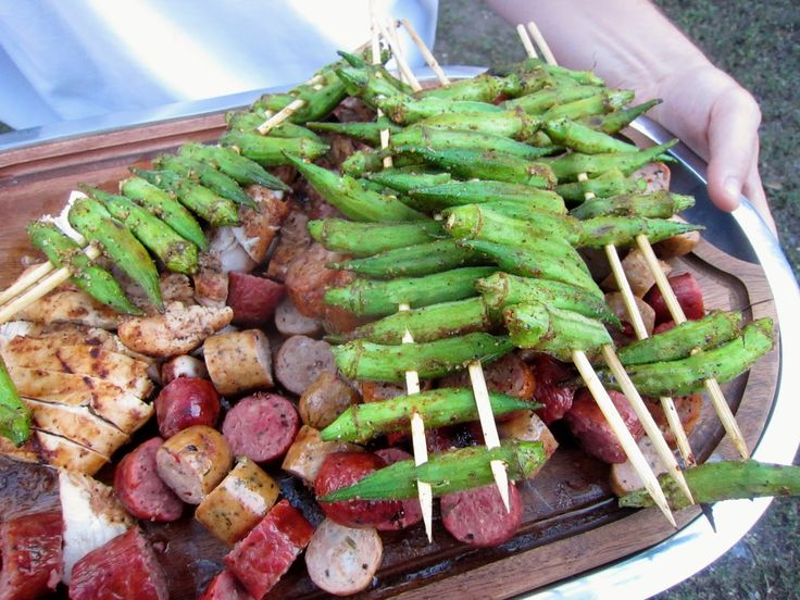 ThreeDietsOneDinner - Paleo Recipes to fit every diet - Paleo Weight Loss - Optimal Nutrition: CAJUN GRILLED OKRA