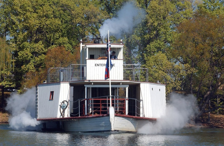 Enterprise paddle steamer